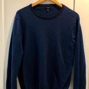 Blue Striped Sweater J Crew